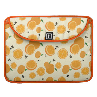 Sinaasappels Sleeve Voor MacBooks