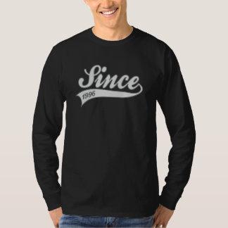 since1996 - verjaardag t shirt