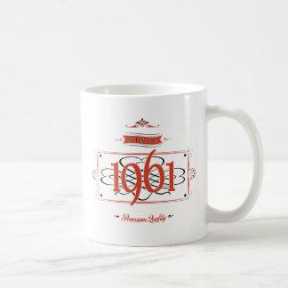 Sinds 1961 (Red&Black) Koffiemok