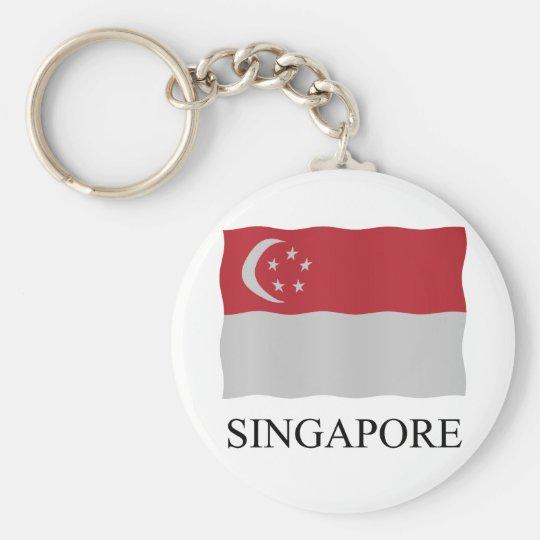 Singapore flag sleutelhanger