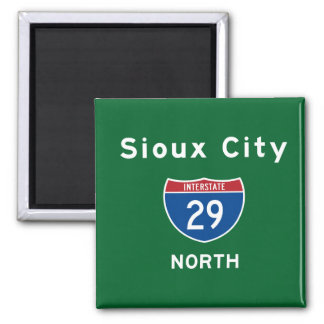 Sioux City 29 Magneet