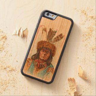 Sioux Leider van Blackfoot: Groot Scheermes Kersen iPhone 6 Bumper Case