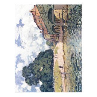 Sisley, Alfred Br? cke von Hampton Court 1874 Briefkaart