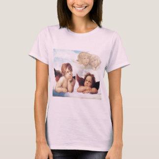 Sistine Madonna 2 Engelen door Raphael T Shirt