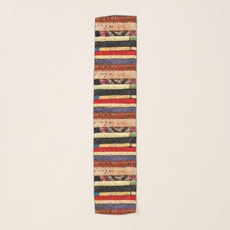 Sjaal van de Chiffon van het Patroon van de Boeken