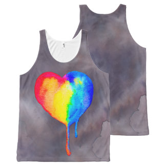 Sjabloon All-Over-Print Tank Top