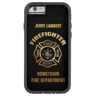Sjabloon van de Naam van het brandweerkorps de Tough Xtreme iPhone 6 Hoesje