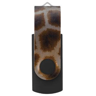 Sjabloon van de Textuur van de Huid van de giraf USB Stick