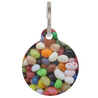 Sjabloon van de Textuur van het Snoep van de Boon Huisdierpenning