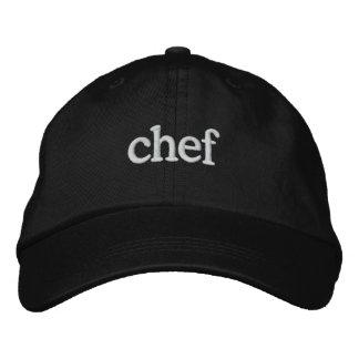 Sjabloon van het Pet van de chef-kok de Geborduurde Pet