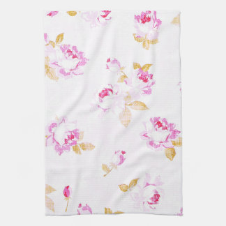 Sjofel Elegant Bord - het roze nam Theedoek