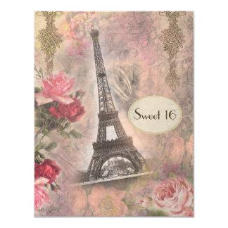 Sjofel Elegant Toren & Snoepje 16 van Eiffel van Kaart