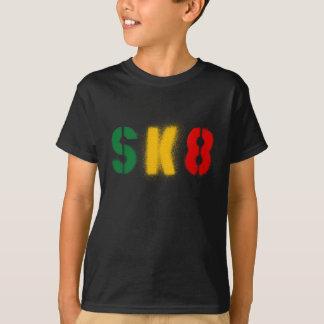 sk8 estencil rastavlag t shirt