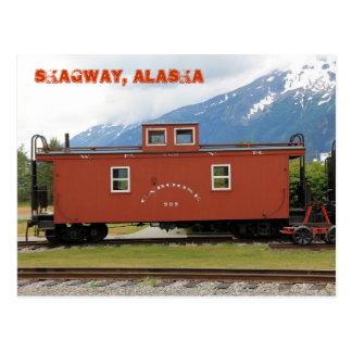 Skagway, Alaska Briefkaart