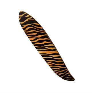 Skateboard van de Druk van de tijger het Gouden en