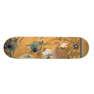 Skateboard van de Patrijs van de Vogels van de