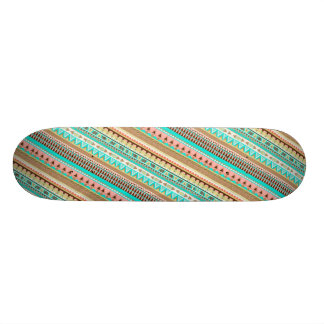 Skateboard van de Strepen van Boho het Stammen