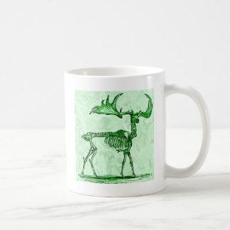skelet Amerikaanse elanden Koffiemok