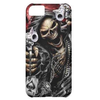 Skelet & Pistolen iPhone 5C Hoesje