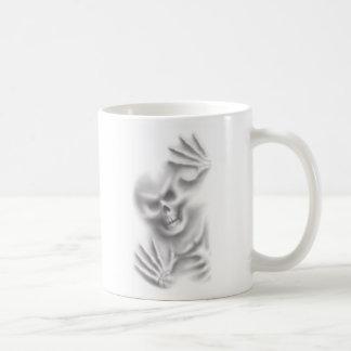 skeletachtige indrukkenmok koffiemok