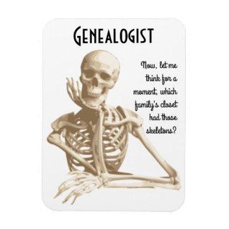Skeletten in de Kast - Genealogie Magneten