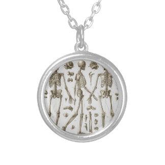 Skeletten van de Encyclopedie Brockhaus & Efron Zilver Vergulden Ketting