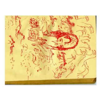 Sketchbook 1 briefkaart