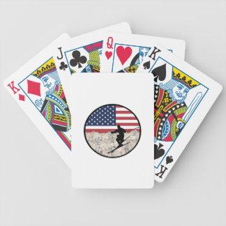 Ski Amerika Bicycle Speelkaarten