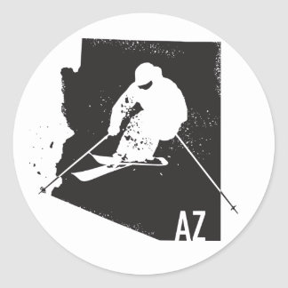 Ski Arizona Ronde Sticker