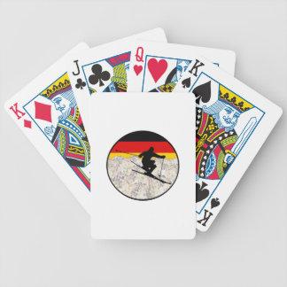 Ski Duitsland Bicycle Speelkaarten