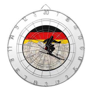 Ski Duitsland Dartbord