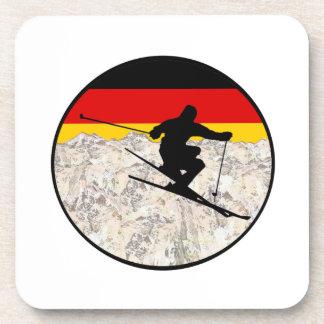 Ski Duitsland Drankjes Onderzetter