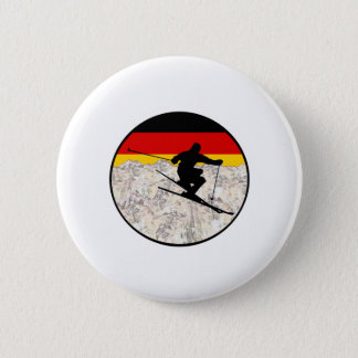 Ski Duitsland Ronde Button 5,7 Cm