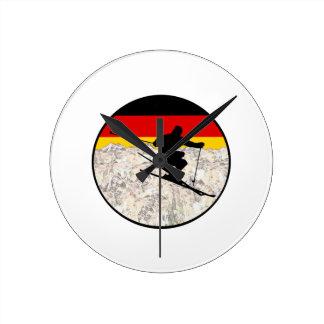 Ski Duitsland Ronde Klok