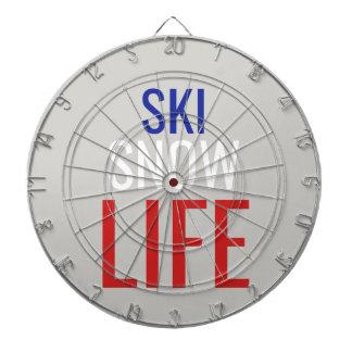 Ski, Sneeuw, het Leven Dartbord