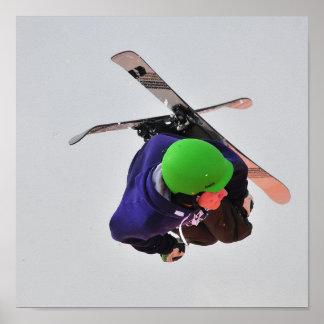 skiër poster