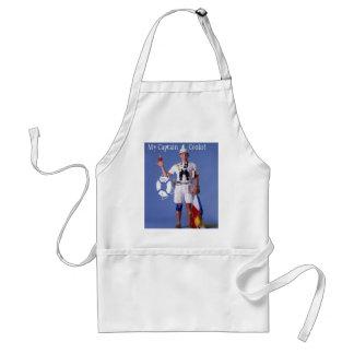 Skip Sayles™_My Kapitein Cooks! chef-kok schort