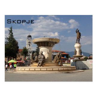 Skopje Briefkaart