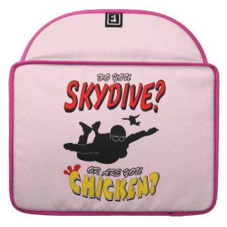 Skydive of Kip? (blk) MacBook Pro Sleeve