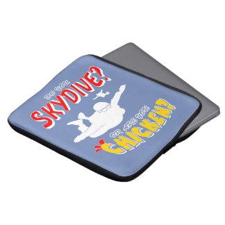 Skydive of Kip? (wht) Laptop Sleeve