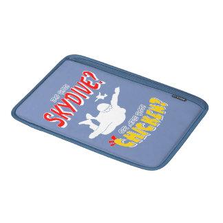 Skydive of Kip? (wht) MacBook Beschermhoes