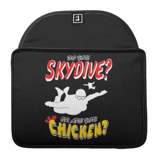 Skydive of Kip? (wht) MacBook Pro Beschermhoes