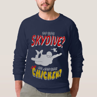 Skydive of Kip? (wht) Sweater