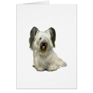 Skye Terrier (a) - Licht Briefkaarten 0