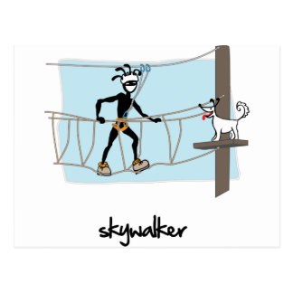 """""""Skywalker """" Briefkaart"""