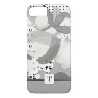 Sla een iPhoneHoesje van het Monogram van het iPhone 7 Hoesje