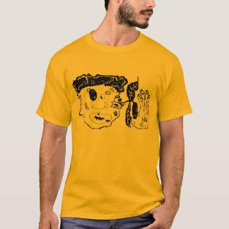 sla omhoog grafisch art. t shirt