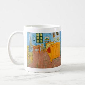 Slaapkamer in Arles door Van Gogh Koffiemok