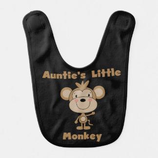Slab van de Aap van de tante Weinig Baby Slabbetje