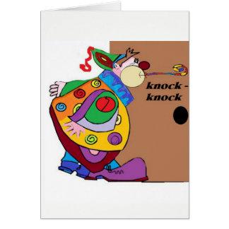 Slag-slag de Verjaardag van de Clown Briefkaarten 0